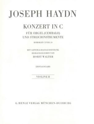 Konzert C-Dur - HAYDN - Partition - laflutedepan.com