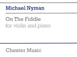 On the Fiddle - Michael Nyman - Partition - Violon - laflutedepan.com