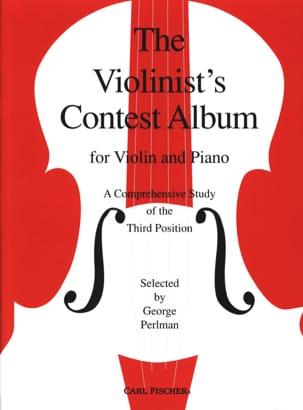 Violonists' contest Album George Perlman Partition laflutedepan