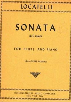 Sonata In C Major LOCATELLI Partition Flûte traversière - laflutedepan