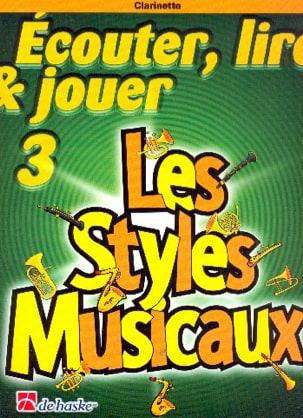 Ecouter Lire et Jouer - Les styles musicaux Volume 3 -Clarinette laflutedepan