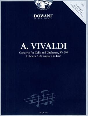 Concerto pour violoncelle Ut Maj. - Rv 399 VIVALDI laflutedepan