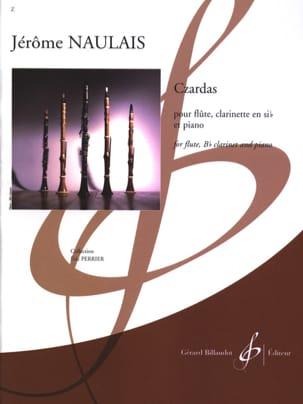 Czardas Jérôme Naulais Partition Trios - laflutedepan