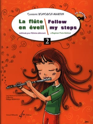 La Flûte en éveil - Volume 2 Claudine BONODOT-MARTIN laflutedepan
