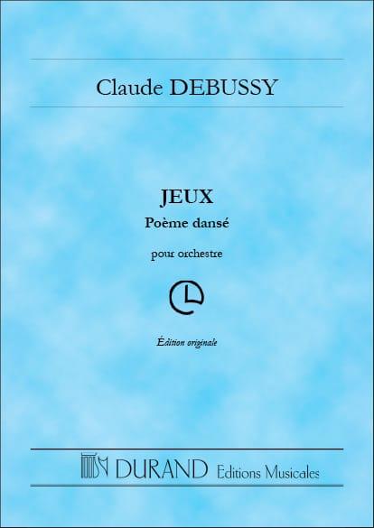 Jeux - DEBUSSY - Partition - Grand format - laflutedepan.com