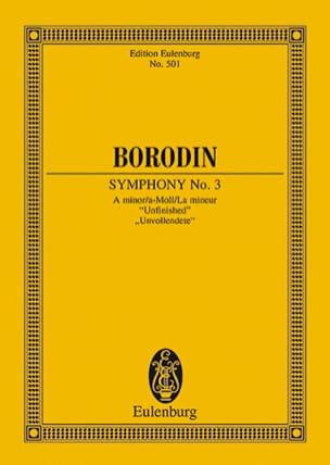 Sinfonie Nr. 3 a-moll BORODINE Partition Petit format - laflutedepan