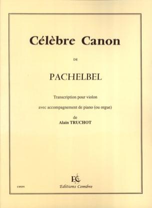 Célèbre Canon - Violon PACHELBEL Partition Violon - laflutedepan