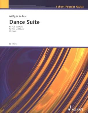 Dance Suite - Flute piano Mátyás Seiber Partition laflutedepan