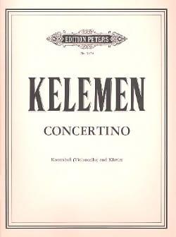 Concertino - Kelemen - Partition - laflutedepan.com