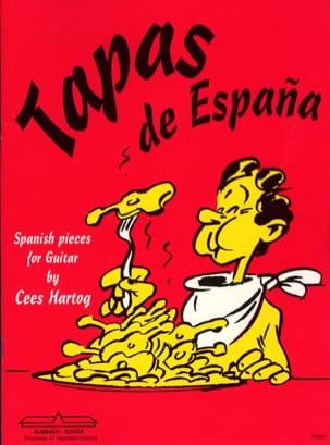 Cees Hartog - Tapas of Espana - Partition - di-arezzo.com
