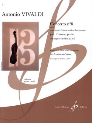 Concerto N°8 Opus 3 VIVALDI Partition Alto - laflutedepan