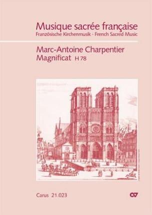 Magnificat H78 CHARPENTIER Partition Grand format - laflutedepan