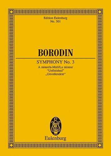 Sinfonie Nr. 3 a-moll - BORODINE - Partition - laflutedepan.com