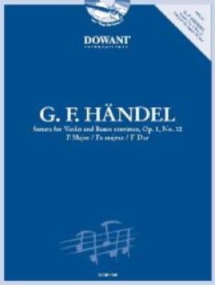 Sonate Op.1 N°12 En Fa Maj. - HAENDEL - Partition - laflutedepan.com