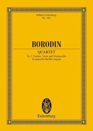 Streichquartett Nr. 2 D-Dur - Partitur BORODINE Partition laflutedepan