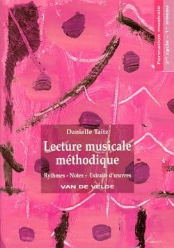 Lecture Musicale Méthodique Volume 1 Danielle Taitz laflutedepan