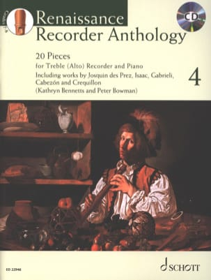 Renaissance Recorder Anthology - Vol. 4 Partition laflutedepan