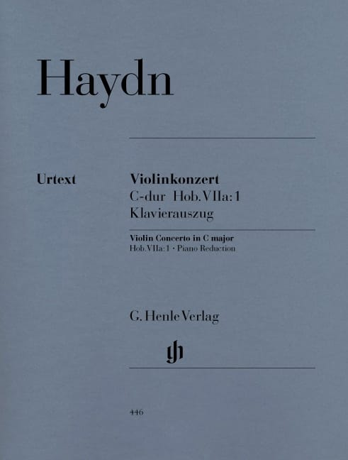 Concerto pour violon en Ut majeur Hob. VIIa:1 - laflutedepan.com