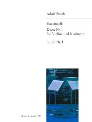 Hausmusik Duett, Nr. 1 - Adolf Busch - Partition - laflutedepan.com