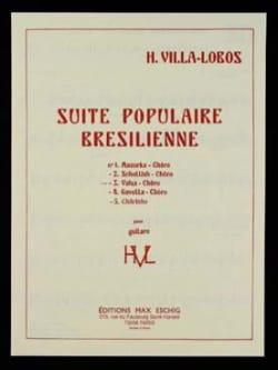 Heitor Villa-Lobos - Waltz - Chôro: No. 3 of the Brazilian Popular Suite - Partition - di-arezzo.co.uk