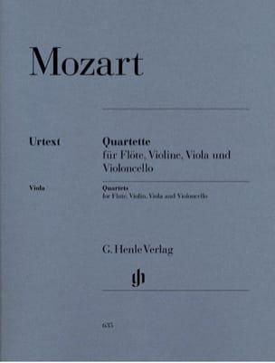 Quatuors avec flûte - flûte, violon, alto et violoncelle laflutedepan