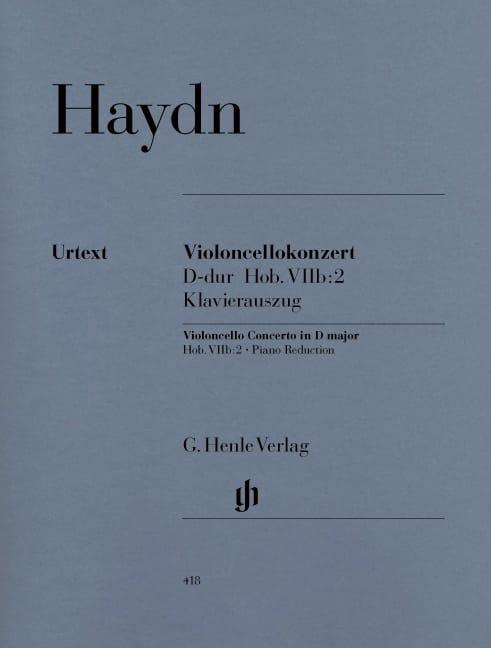 Concerto pour violoncelle en Ré majeur Hob. VIIb:2 - laflutedepan.com