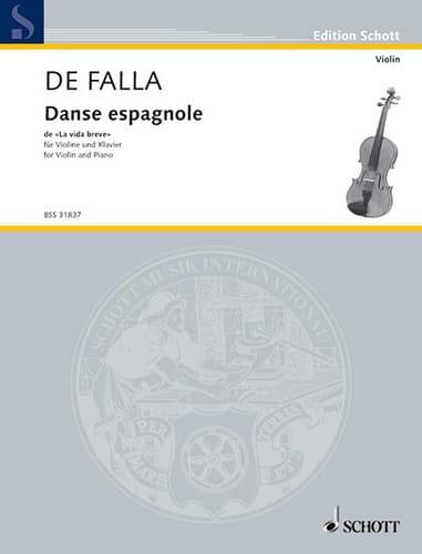 Danse espagnole de La vida breve - DE FALLA - laflutedepan.com