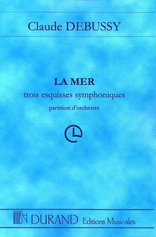 La Mer - Conducteur - DEBUSSY - Partition - laflutedepan.com