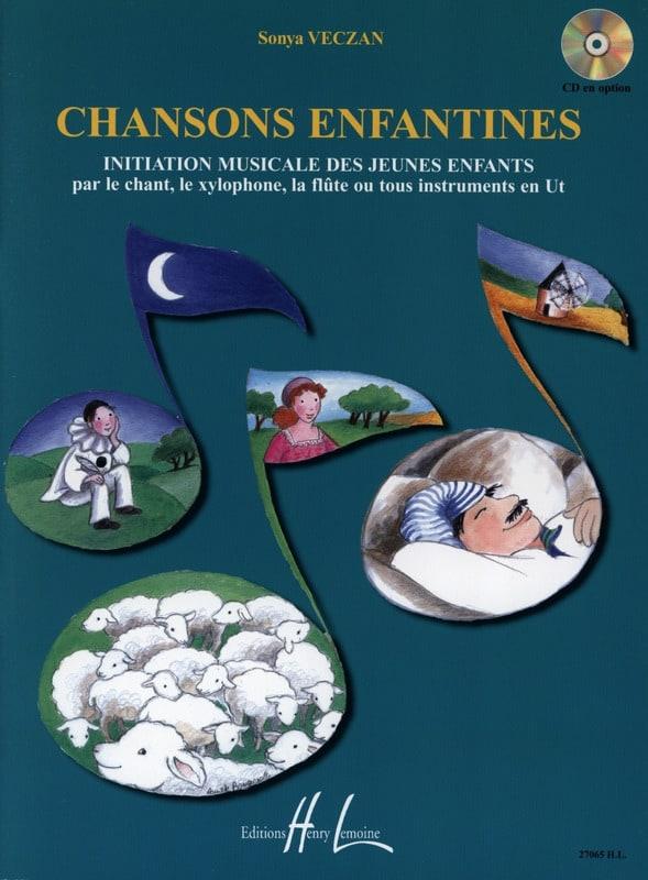 Chansons enfantines - Sonya Veczan - Partition - laflutedepan.com