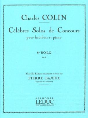 1er Solos op. 33 Célèbres solos se concours Charles Colin laflutedepan