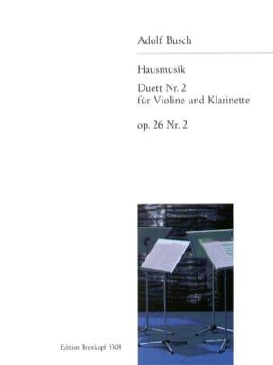Hausmusik - Duett, Nr. 2 op. 26/2 - Violine Klarinette laflutedepan
