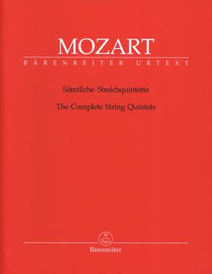 Intégrale des quintettes à cordes MOZART Partition laflutedepan