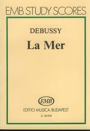 La Mer - Partitur DEBUSSY Partition Petit format - laflutedepan