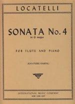 Sonata n° 4 in G major LOCATELLI Partition laflutedepan