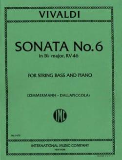 Sonate n° 6 in B flat maj. RV 46 - String bass VIVALDI laflutedepan
