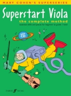 Superstart Viola With CD Level 1 Mary Cohen Partition laflutedepan