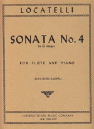 Sonata n° 4 in G major - LOCATELLI - Partition - laflutedepan.com