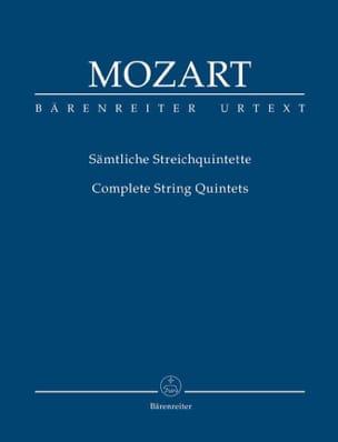 Intégrale des quintettes à cordes Urtext der Neuen Mozart-Ausgabe laflutedepan