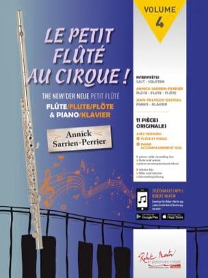 Le Petit Flûté au Cirque Partition Flûte traversière - laflutedepan