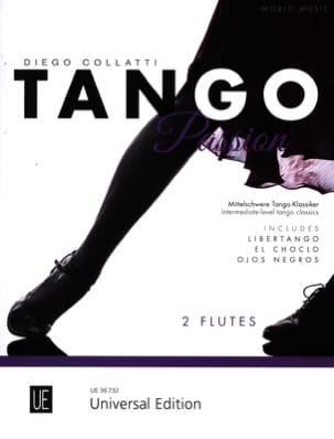 Tango Passion - 2 Flûtes Partition Flûte traversière - laflutedepan