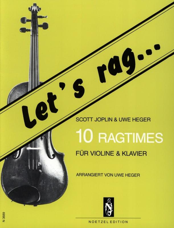 Let's Rag - 10 Ragtimes - Violin - laflutedepan.com