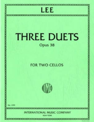 3 Duets op. 38 - Sebastian Lee - Partition - laflutedepan.com