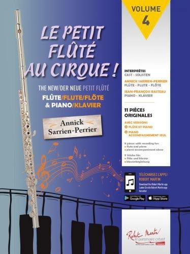 Le Petit Flûté au Cirque - Partition - laflutedepan.com