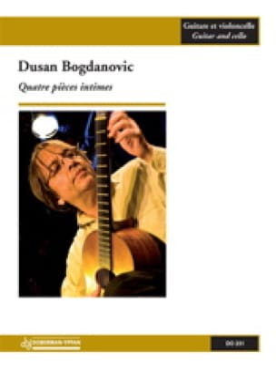 4 Pièces Intimes - Dusan Bogdanovic - Partition - 0 - laflutedepan.com