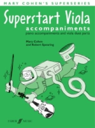 Superstart Viola Piano Accompaniments - Mary Cohen - laflutedepan.com