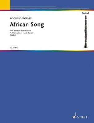 African Song - Clarinette et Piano - laflutedepan.com
