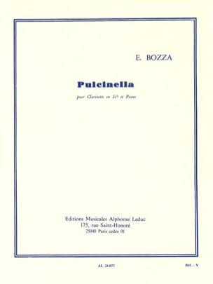 Pulcinella - Clarinette Eugène Bozza Partition laflutedepan