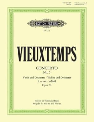 Concerto Violon n° 5 la mineur op. 37 VIEUXTEMPS laflutedepan
