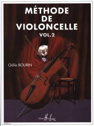 Méthode de Violoncelle Volume 2 Odile Bourin Partition laflutedepan