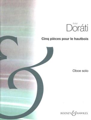 Cinq pièces pour le hautbois Antal Dorati Partition laflutedepan